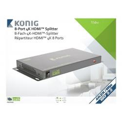 Louer, Splitter HDMI, Professionnel 8 ports Konig, Marseille Provence