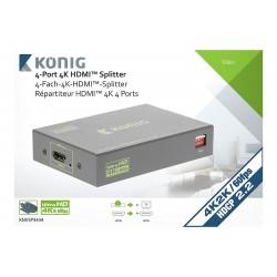 Louer, Splitter HDMI, Professionnel 4 ports Konig, Marseille Provence