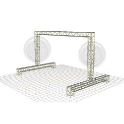 Location structure pour écran plein jour, écran extérieur, grand écran, aix en provence