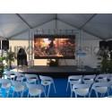 Ecran led, 2m x 1m, plein jour, extérieur, grand écran,  - Cannes, Nice, Monaco
