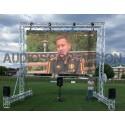 Ecran led, 4.5m x 2.5m, plein jour, extérieur, grand écran, Aix en Provence