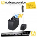 Location Pack sono 630W RMS colonne design type line array Bluetooth Aubagne Marseille