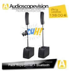 Location Pack sono colonne design type line array Bluetooth Aubagne Marseille Provence 13001 13002 13003 13004 13005 13006 13007