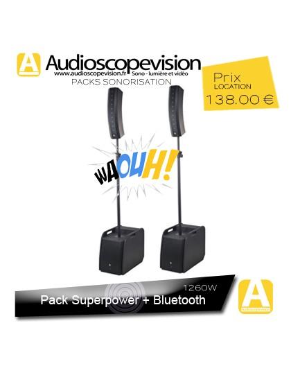 Location Pack sono colonne design type line array Bluetooth Aubagne Marseille Provence 13001 13002 13003 13004 13005 13006 13007