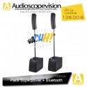 Location Pack sono 1260W RMS colonne design type line array Bluetooth Aubagne Marseille
