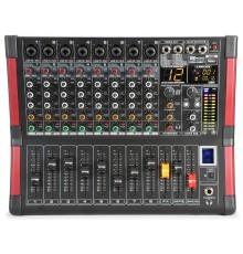 Table de mixage 8 canaux Bluetooth avec effets intégrés