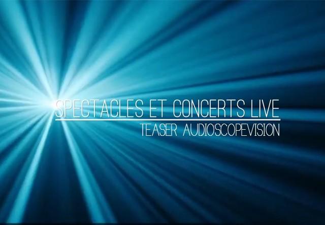 Teaser vidéo Audioscopevision